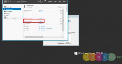 Bật tính năng Remote Desktop trên Windows Server 2012