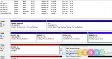 Cài đặt và cấu hình ổ đĩa cứng trên Windows Server 2012