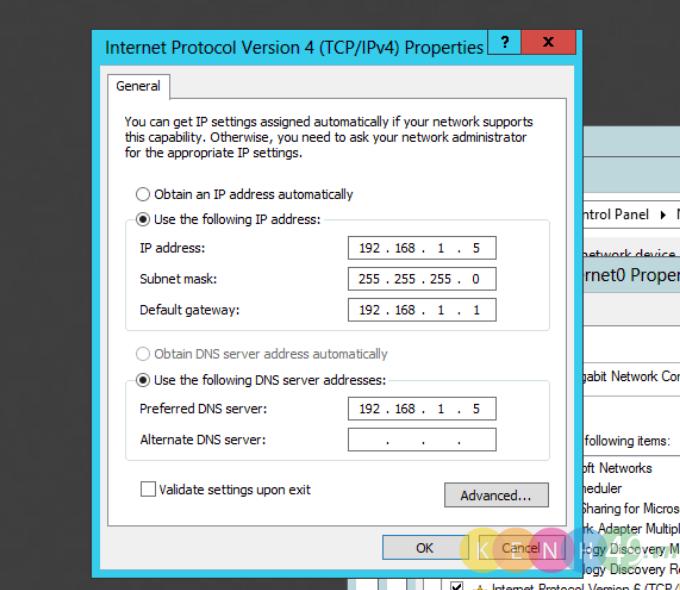 Cài đặt và cấu hình DNS Server