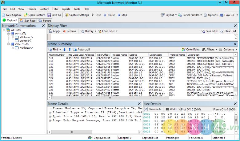 Cài đặt Tool Network Monitor 3.4 & Giám sát lưu lượng mạng