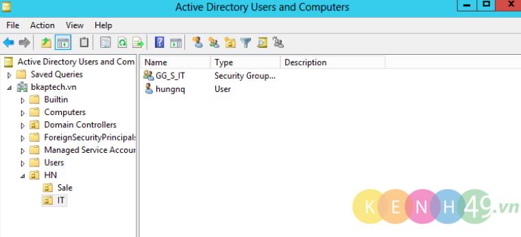 Cấu hình và phân quyền chia sẻ dữ liệu trên Windows Server