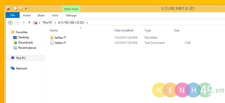 Cấu hình Offline Files