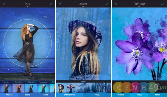 Enlight phần mềm chỉnh sửa hình tốt nhất trên Iphone