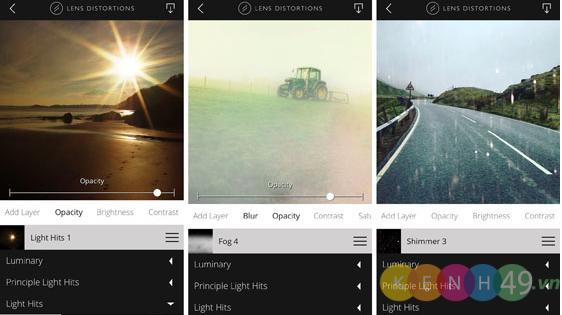 Lens Distortions ứng dụng chỉnh sửa ảnh tốt nhất cho IPhone