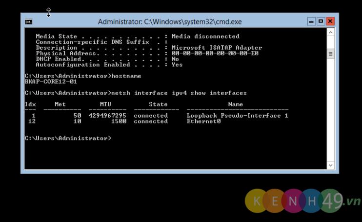 Nâng cấp Windows Server 2012