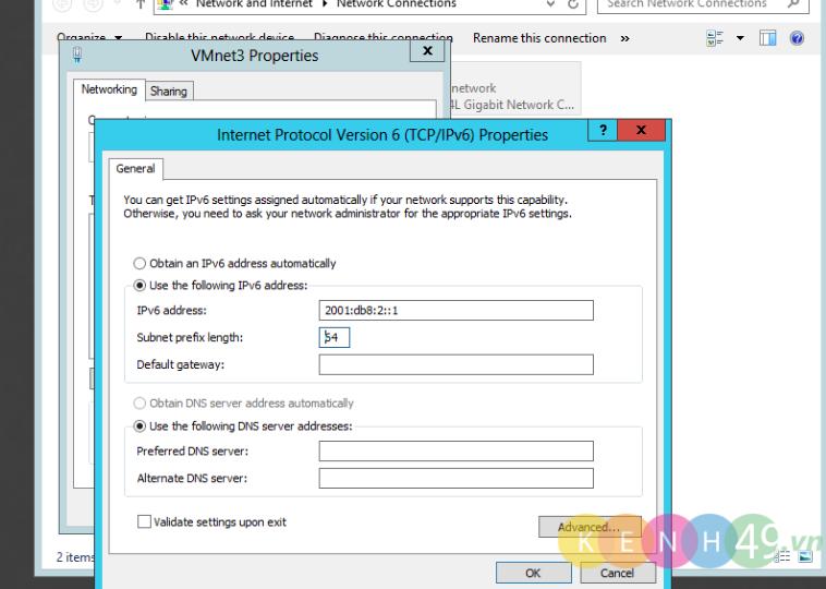 Triển khai mạng với IPv6