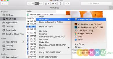 Hướng dẫn resize ảnh trực tiếp trên Macbook