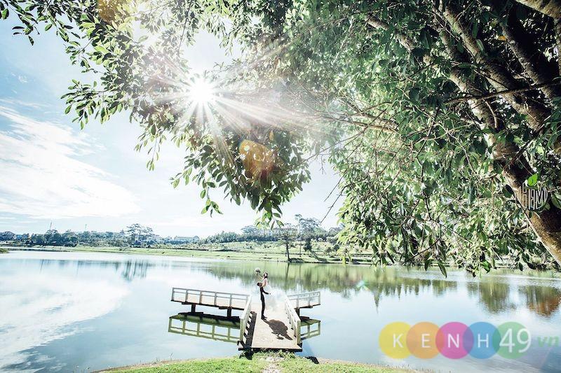 Địa điểm chụp ảnh ngoại cảnh đẹp ở Đà Lạt