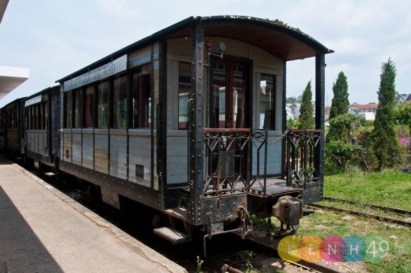 Ga xe lửa Đà Lạt, một trong những địa điểm check in sống ảo khi du lịch Đà Lạt