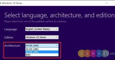 Chuyển từ Windows 32 bit sang 64 bit