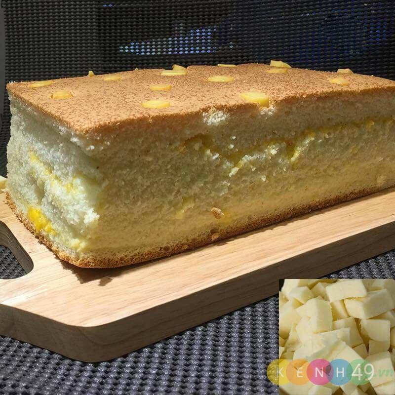 Món ăn vặt Đà Lạt - Bánh bông lan Đài Loan