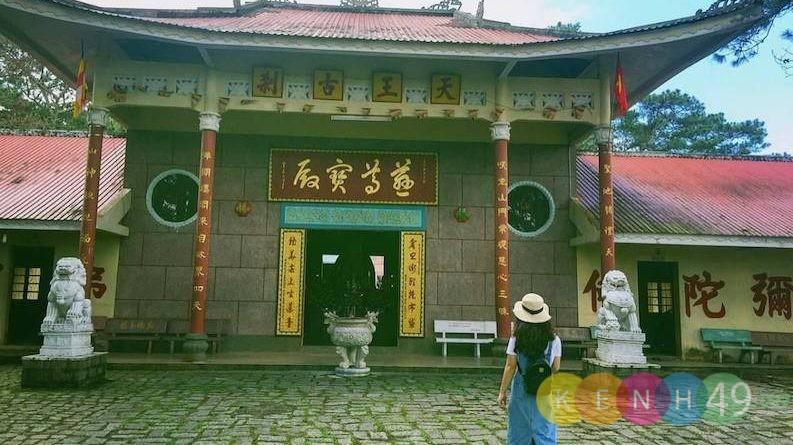 Chùa Tàu - Kinh nghiệm du lịch Đà Lạt