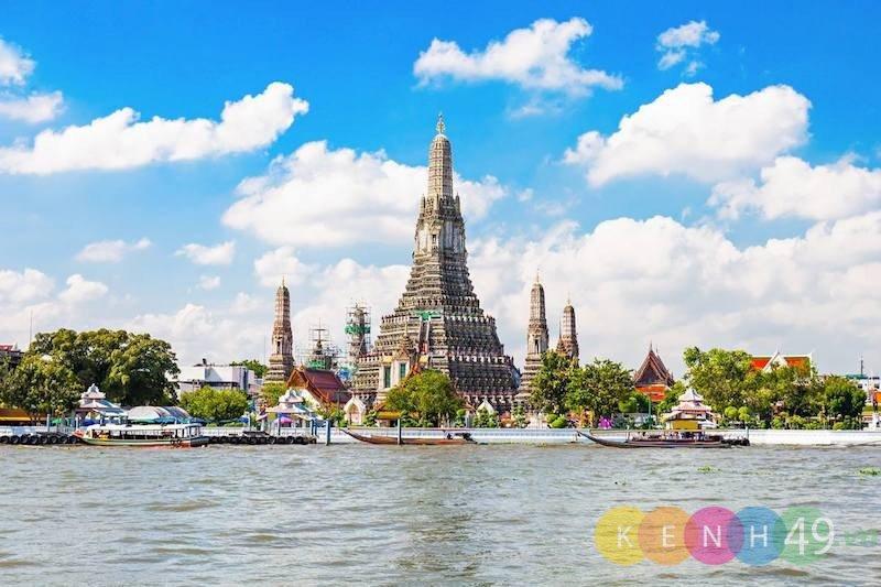 Wat Arun - Chùa Bình Minh