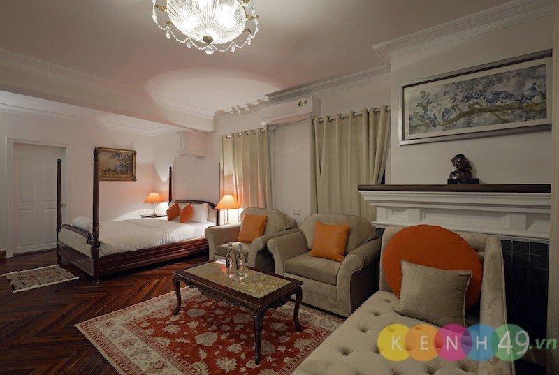 Phòng ngủ Lamarque Dalat Villa