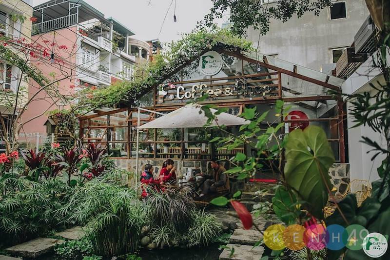 Cà phê sân vườn Đà Lạt - F Coffee