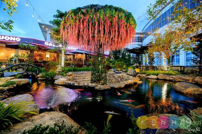 Cà phê sân vườn - Xuân Hương Garden
