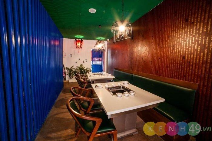 Không gian nhà hàng lẩu Soa Soa