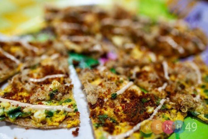 Bánh tráng nướng Đà lạt