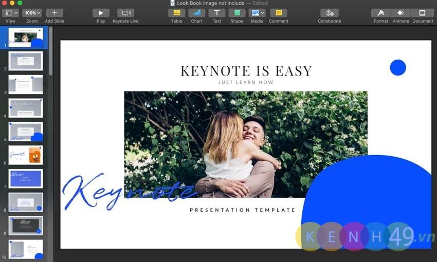 Keynote là gì