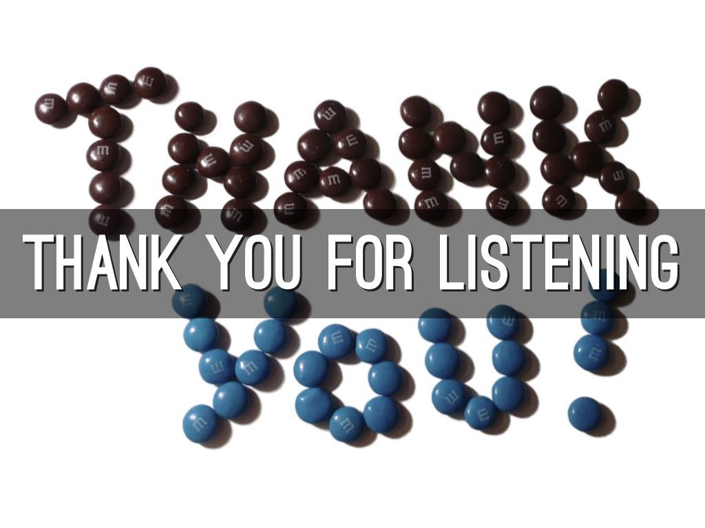 Hình nền Thank You For Listening sáng tạo
