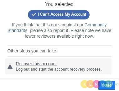 Khôi phục Facebook khi bị hack