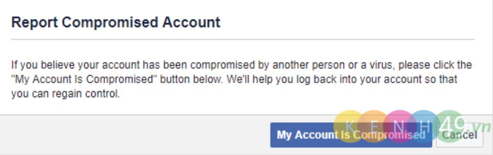 Khôi phục facebook