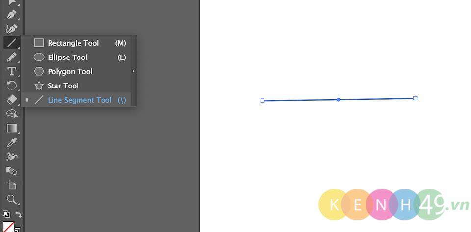 Vẽ đường thẳng trong AI