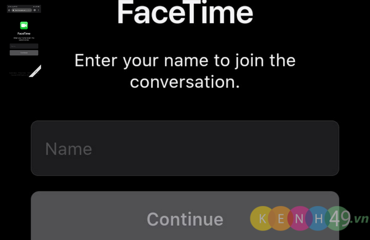 Facetime trên Android