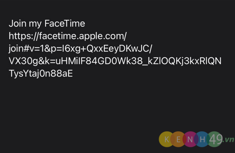 Gọi FaceTime từ Android sang iPhone