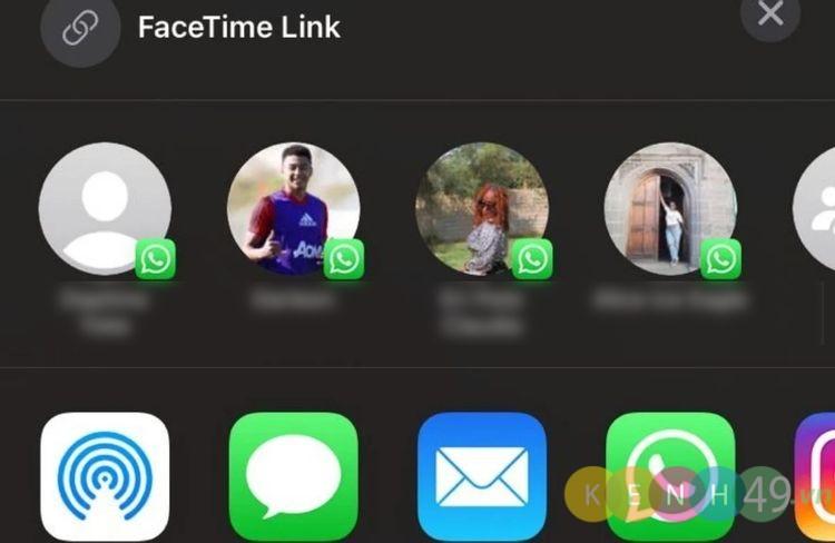 Share Facetime